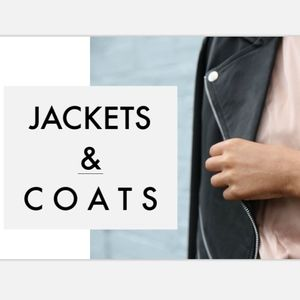 Jackets & Blazers - Jackets, coats, and vests section!